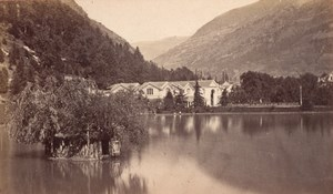Luchon Quinconces Haute Garonne France Old CDV Photo 1880