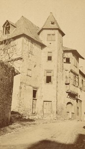 Saint Bertrand de Comminges Bridaut House Old CDV Photo 1880