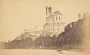 Toulouse ? Church Haute Garonne France Old CDV Photo 1880