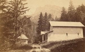 Grande Chartreuse Notre Dame de Casalibus Chapel Alps CDV Photo 1865