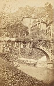 Grande Chartreuse Furon River Alps Old CDV Photo 1865