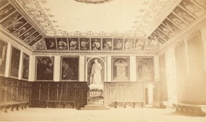 Grande Chartreuse Convent Interior Alps CDV Photo 1865