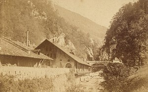 St Laurent du Pont Fouvoirie Isere Old CDV Photo 1865