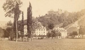 Uriage les Bains Castle Thermal Isere CDV Photo 1865