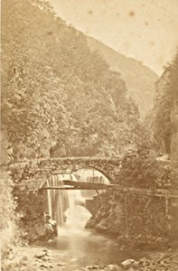St Laurent du Pont Fourvoirie Isere Old CDV Photo 1870