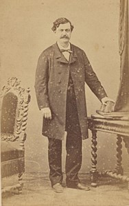 Oran Edouard Guenard Algeria Old CDV Photo 1870