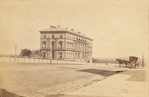 Melbourne Treasury Australia old CDV Nettleton Photo 1870