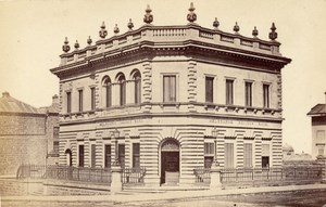 Melbourne Bank Australia CDV Nettleton Photo 1870