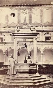 Napoli San Martino Convent Italy Old CDV Photo 1868