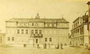 Switzerland Drawing Basel old CDV Photo Weitnauer 1865