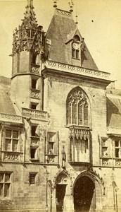 France Bourges House of Jacques Coeur old CDV Photo Poupat 1870