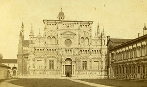 Italy Firenze Florence old CDV Photo Brogi 1870