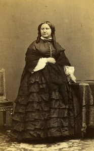 France Paris Miss Ernest Herard Second Empire Fashion CDV Photo Disderi 1860's