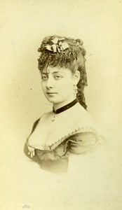 France Paris Theater Actress Miss Anita old CDV Photo Reutlinger 1870