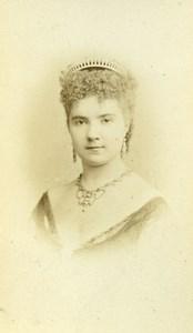 France Paris Theater Actress Miss Gouvion old CDV Photo Reutlinger 1870