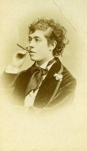 France Paris Theater Actress Miss Lefevre old CDV Photo Reutlinger 1870