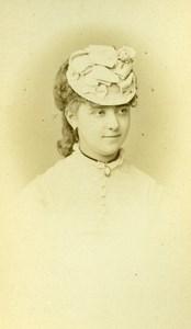 France Paris Theater Actress Miss Berthe Girardin old CDV Photo Reutlinger 1870