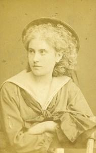 Austria Wien Theater Actress Miss Stiany old CDV Photo Lowy 1870
