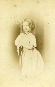 France Nancy Hélène de Gonneville Bacourt old CDV Photo 1861