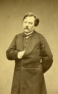 France Paris Theater Actor Lacressonniere old CDV Photo Lege & Bergeron 1870