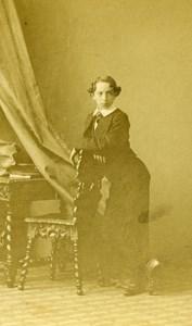 France Paris Duke Jacques de Fitz James old CDV Photo Disderi 1865