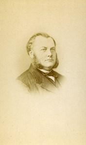 France Paris Medical Doctor Daussy old CDV Photo Tourtin 1873