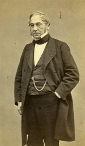 France Paris Man fasion Second Empire old CDV Photo Millet 1865
