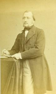 France Paris Mister P Moreau old CDV Photo Hallier 1865