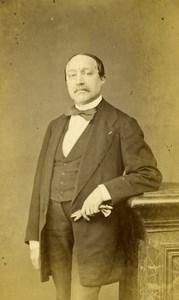 France Paris Mister Cordonnier old CDV Photo Braun 1865