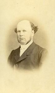 France Brest Mister Tacounet old CDV Photo Bernier 1865