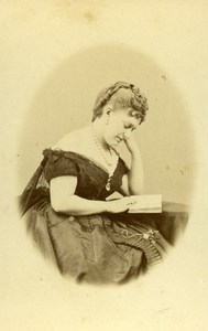 France Paris Portrait Princess Anna Murat old CDV Photo Levitsky 1865