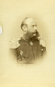 Germany Berlin Count Rodolphe Kamitz Rittberg old CDV Photo Graf 1865