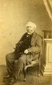 United Kingdom Man Victorian Fashion John Moffat Esq CDV Photo Bentley 1865
