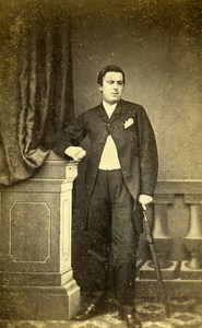 United Kingdom Newcastle Man Victorian Fashion Hemingway Esq CDV Photo 1865