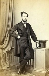 United Kingdom Sunderland Man Victorian Fashion Old CDV Photo Stabler 1865