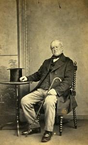 United Kingdom Redear Man Victorian Fashion Old CDV Photo Goodchild 1865