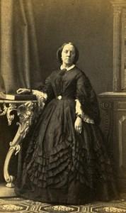 United Kingdom Liverpool Woman Victorian Fashion Mottram CDV Photo Scott 1865