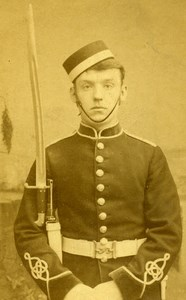 United Kingdom London Military Soldier Old CDV Photo Jardine 1880