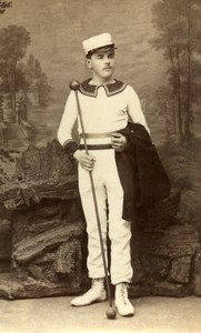 France Vernon Bandmaster Old CDV Photo Messier 1890