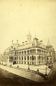 United Kingdom Manchester Assize Courts Old CDV Photo MPC 1865
