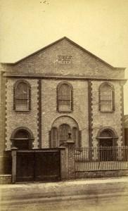 United Kingdom Cambridge Church Old CDV Photo Farren 1865