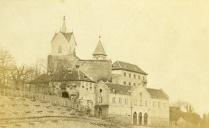 Germany Baden Castle Eberstein Old CDV Photo Numa Blanc 1865