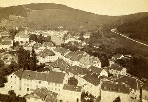 Germany Baden Panorama Old CDV Photo William England 1865