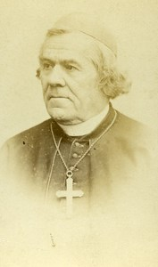 France Paris Catholic Religion Cardinal Gousset Old CDV Photo Reutlinger 1865