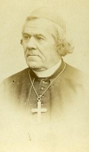 France Paris Catholic Religion Cardinal Gousset Old CDV Photo Reutlinger 1865