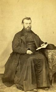 France Paris Religion Abbe Lavigerie Old CDV Photo Duroni 1865