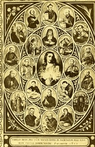 France Paris Catholic Religion Compagnie de Jésus Old CDV Photo Anonymous 1865