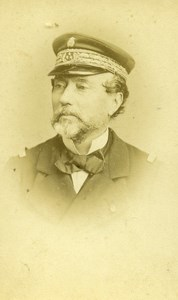 France Paris Admiral Pothuau Old CDV Photo Reutlinger 1865