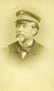 France Paris Admiral Pothuau Old CDV Photo Reutlinger 1865