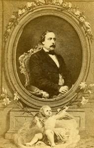 France Paris Henri d Artois Comte de Chambord Old CDV Photo Petit 1865